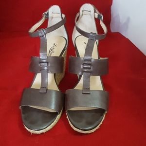 Lucky Brand woman  sandals leather upper size 10